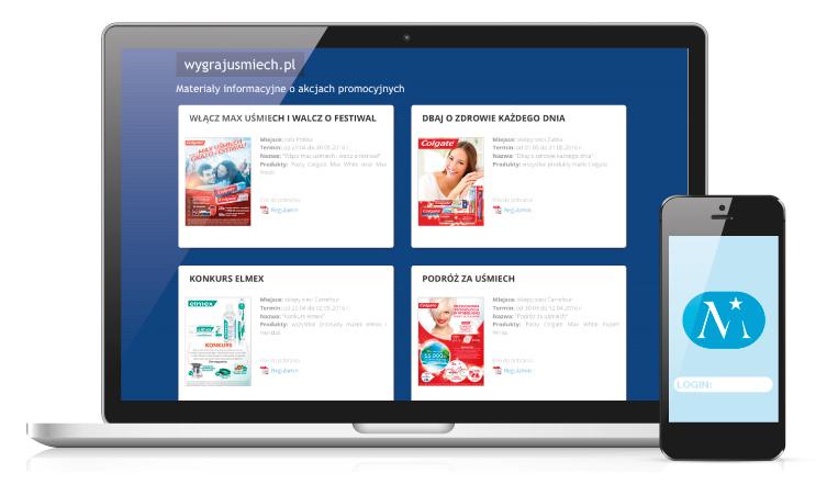 Los Mejores - Obsługa on-line uczestników promocji
