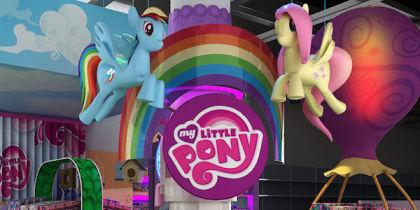 Ekspozycje Hasbro w SMYK
