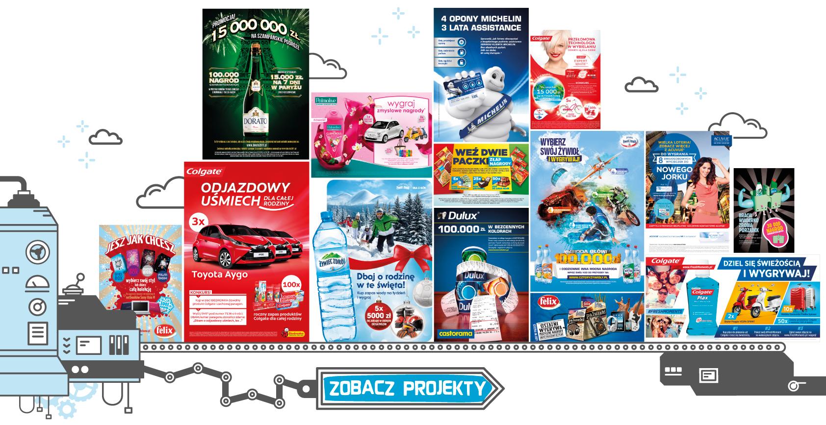 Los Mejores - Projekty materiałów POS do promocji